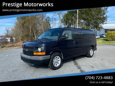 2013 Chevrolet Express Passenger for sale at Prestige Motorworks in Concord NC