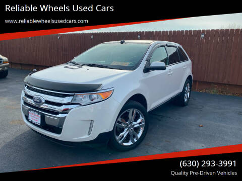2012 Ford Edge for sale at Reliable Wheels Used Cars in West Chicago IL