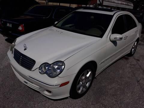 2007 Mercedes-Benz C-Class for sale at U-Safe Auto Sales in Deland FL