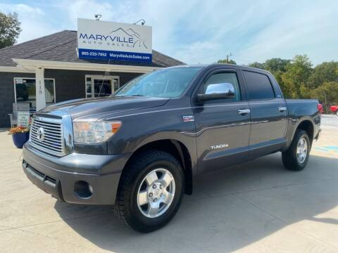 2011 Toyota Tundra for sale at Maryville Auto Sales in Maryville TN