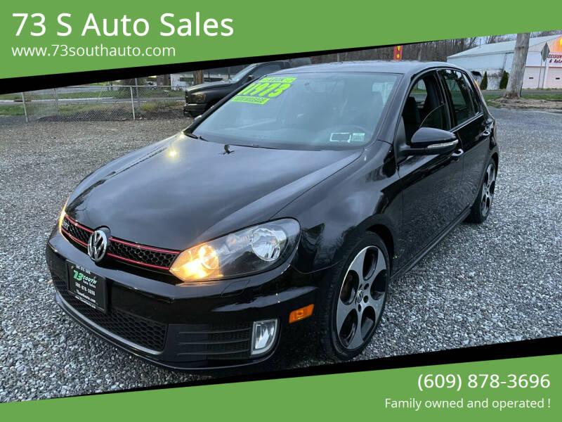 2012 Volkswagen GTI for sale at 73 S Auto Sales in Hammonton NJ