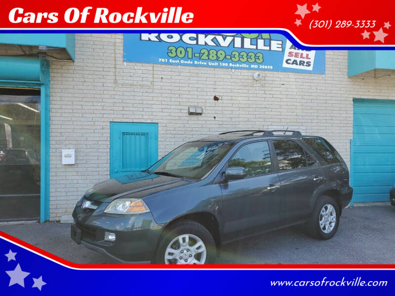 2004 Acura MDX for sale at Cars Of Rockville in Rockville MD