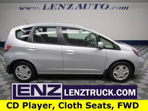 2013 Honda Fit for sale at LENZ TRUCK CENTER in Fond Du Lac WI