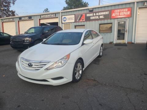 2011 Hyundai Sonata for sale at B & A Automotive Sales in Charlotte NC
