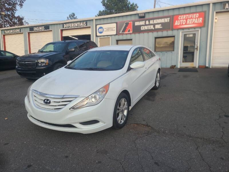 2011 Hyundai Sonata for sale at B & A Automotive Sales in Charlotte NC
