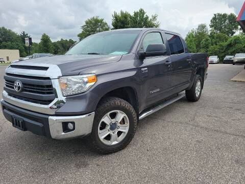 2015 Toyota Tundra for sale at Cruisin' Auto Sales in Madison IN