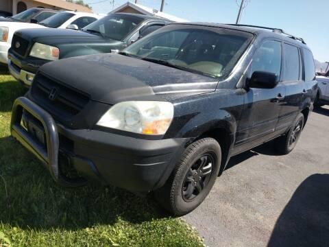 2005 Honda Pilot for sale at Creekside Auto Sales in Pocatello ID
