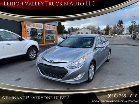 2015 Hyundai Sonata Hybrid for sale at Lehigh Valley Truck n Auto LLC. in Schnecksville PA