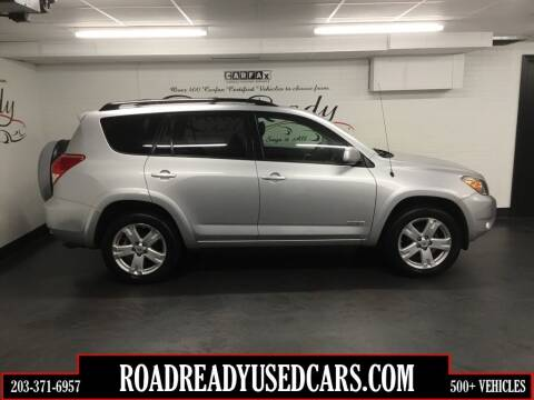 2008 Toyota RAV4 for sale at Road Ready Used Cars in Ansonia CT