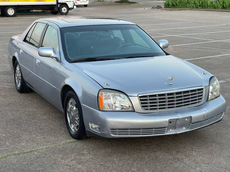 2005 Cadillac DeVille for sale at Hadi Motors in Houston TX