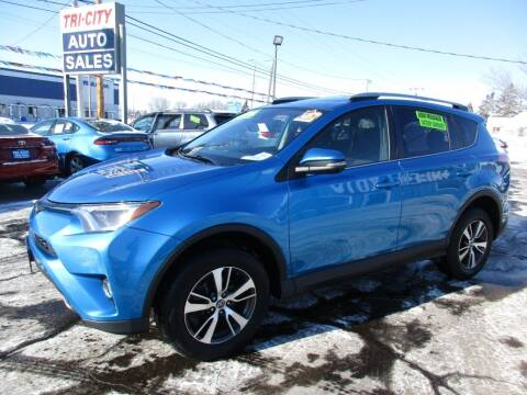2017 Toyota RAV4 for sale at TRI CITY AUTO SALES LLC in Menasha WI