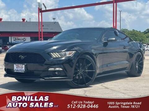 2015 Ford Mustang for sale at Bonillas Auto Sales in Austin TX