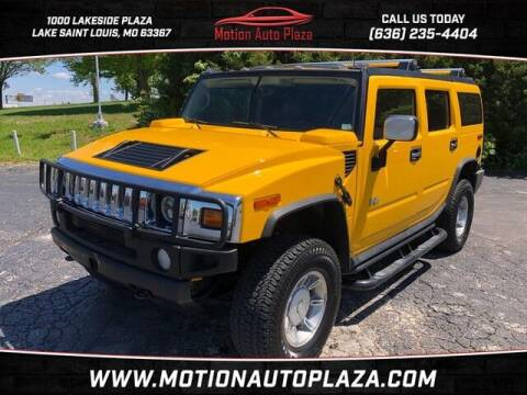 2003 HUMMER H2 for sale at Motion Auto Plaza in Lakeside MO