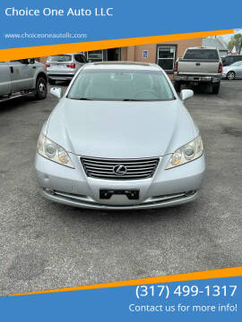 2008 Lexus ES 350 for sale at Choice One Auto LLC in Beech Grove IN