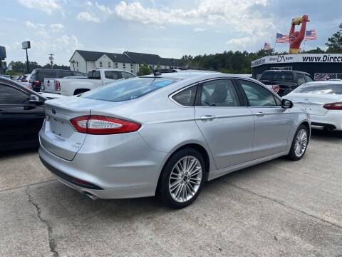 2016 Ford Fusion for sale at Direct Auto in D'Iberville MS