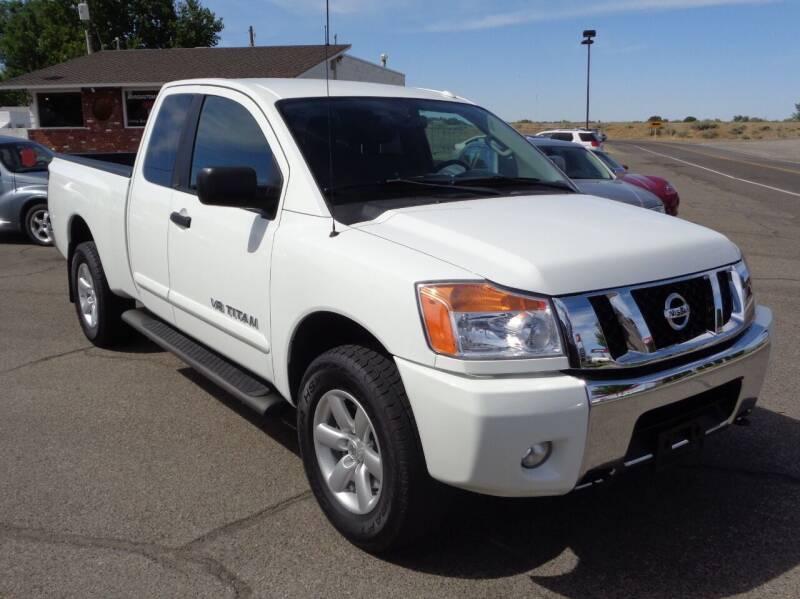 2014 Nissan Titan for sale at John's Auto Mart in Kennewick WA