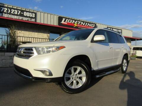 2011 Toyota Highlander for sale at Lightning Motorsports in Grand Prairie TX