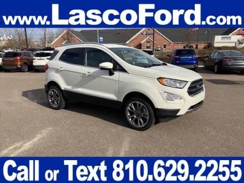 2020 Ford EcoSport for sale at LASCO FORD in Fenton MI