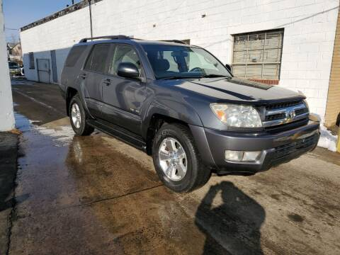 2005 Toyota 4Runner for sale at PARK AUTO SALES in Roselle NJ