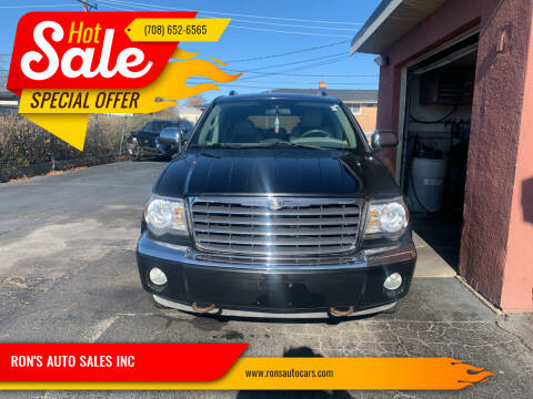 2008 Chrysler Aspen for sale at RON'S AUTO SALES INC in Cicero IL