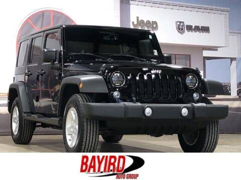 2017 Jeep Wrangler Unlimited for sale at Bayird Truck Center in Paragould AR