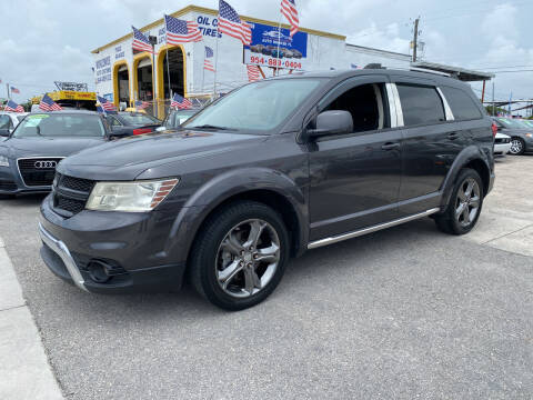 2017 Dodge Journey for sale at INTERNATIONAL AUTO BROKERS INC in Hollywood FL