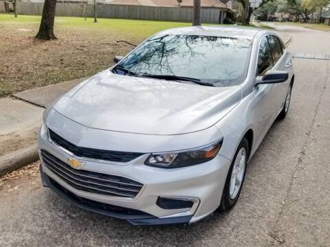 2017 Chevrolet Malibu for sale at Amazon Autos in Houston TX