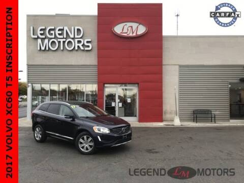 2017 Volvo XC60 for sale at Legend Motors of Detroit - Legend Motors of Ferndale in Ferndale MI