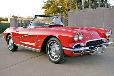 1962 Chevrolet Corvette for sale at European Motor Cars LTD in Fort Worth TX