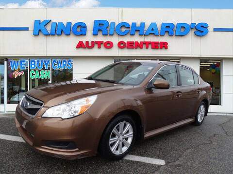 2011 Subaru Legacy for sale at KING RICHARDS AUTO CENTER in East Providence RI