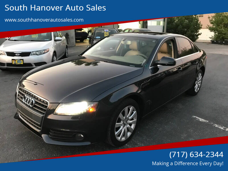 2012 Audi A4 for sale at South Hanover Auto Sales in Hanover PA