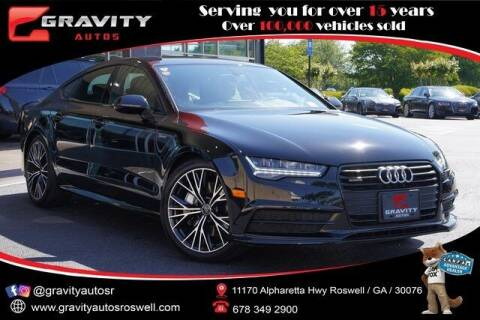 2017 Audi A7 for sale at Gravity Autos Roswell in Roswell GA