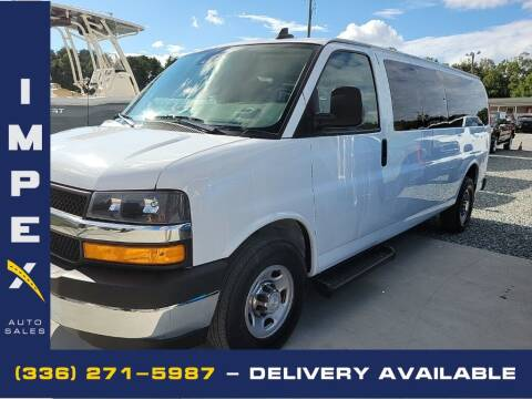 2019 Chevrolet Express Passenger for sale at Impex Auto Sales in Greensboro NC