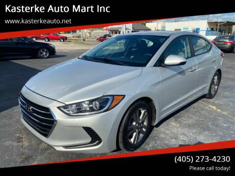 2018 Hyundai Elantra for sale at Kasterke Auto Mart Inc in Shawnee OK