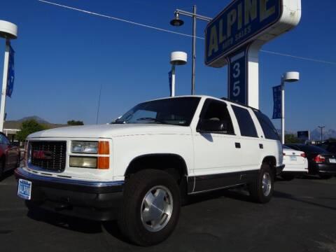 1995 GMC Yukon for sale at Alpine Auto Sales in Salt Lake City UT