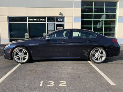 2017 BMW 6 Series for sale at Euro Auto Sport in Chantilly VA
