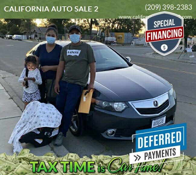 2012 Acura TSX for sale at CALIFORNIA AUTO SALE 2 in Livingston CA
