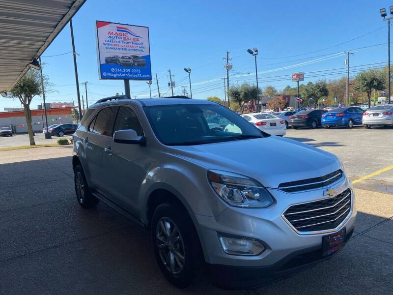 2017 Chevrolet Equinox for sale at Magic Auto Sales in Dallas TX