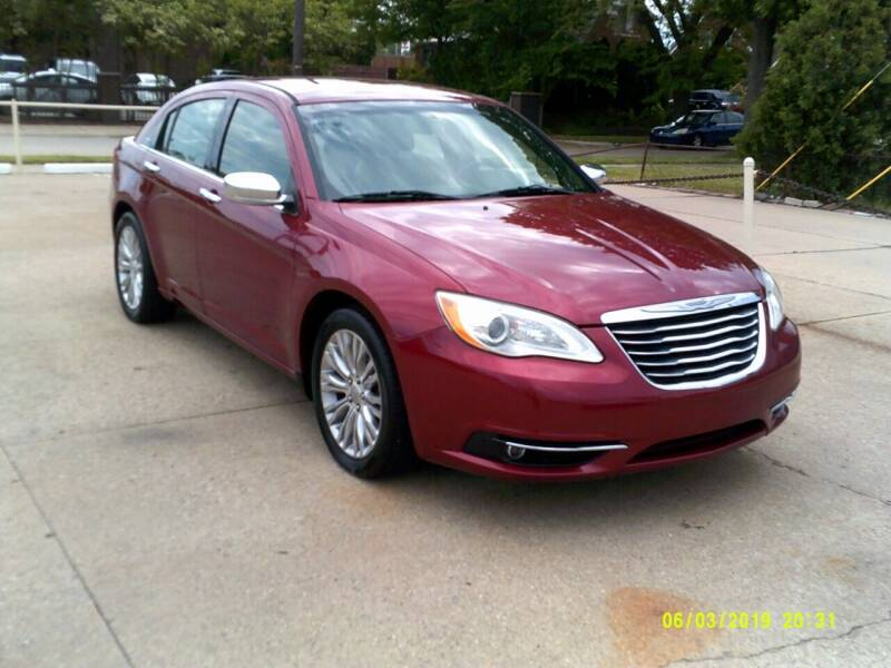 2013 Chrysler 200 for sale at Fred Elias Auto Sales in Center Line MI