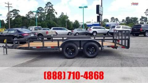"2021 C-5 76"" X 16' Bumper Pull Utility for sale at Montgomery Trailer Sales in Conroe TX"
