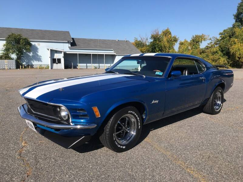 1970 Ford Mustang for sale at D'Ambroise Auto Sales in Lowell MA
