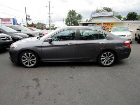 2014 Honda Accord for sale at American Auto Group Now in Maple Shade NJ