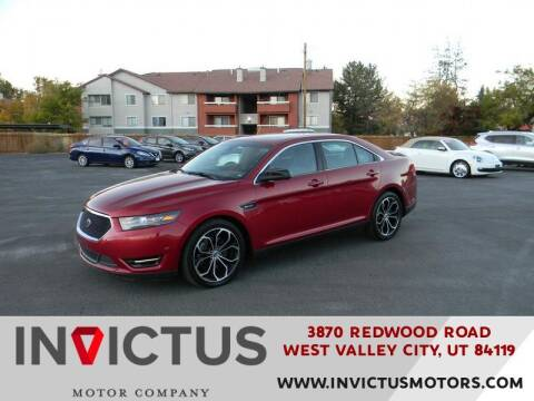 2015 Ford Taurus for sale at INVICTUS MOTOR COMPANY in West Valley City UT