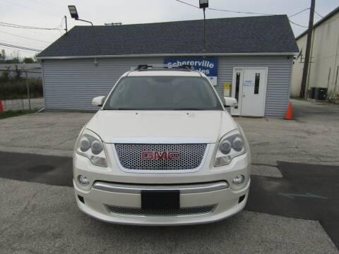 2011 GMC Acadia for sale at SCHERERVILLE AUTO SALES in Schererville IN