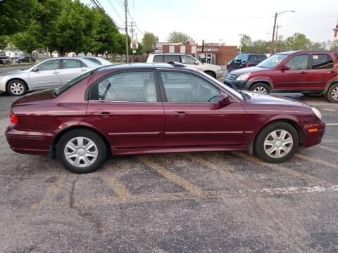 2002 Hyundai Sonata for sale at Sportscar Group INC in Moraine OH