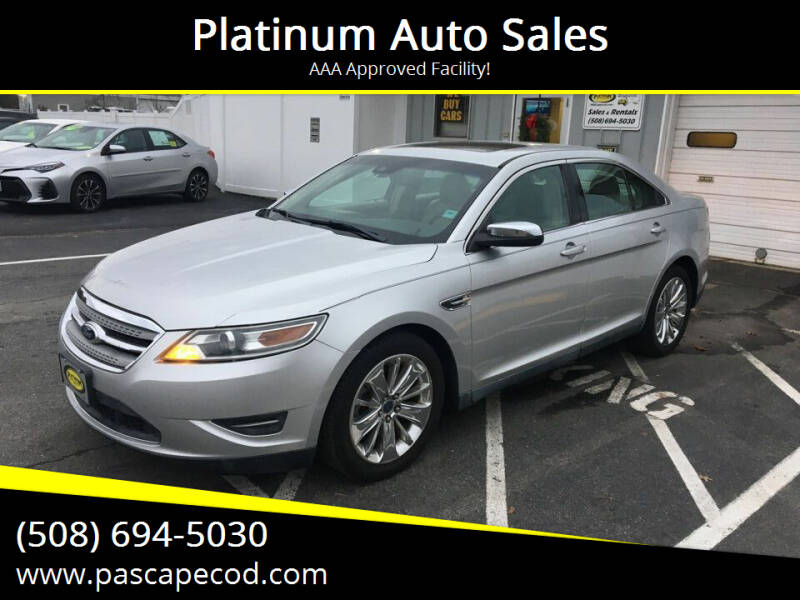 2011 Ford Taurus for sale at Platinum Auto Sales in South Yarmouth MA