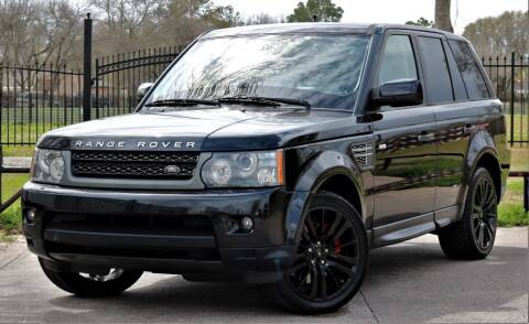 2011 Land Rover Range Rover Sport for sale at Texas Auto Corporation in Houston TX