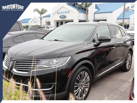 2016 Lincoln MKX for sale at BARTOW FORD CO. in Bartow FL