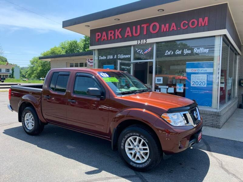 2017 Nissan Frontier for sale at Park Auto LLC in Palmer MA