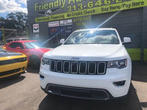 2019 Jeep Grand Cherokee for sale at Friendly Auto Sales in Detroit MI